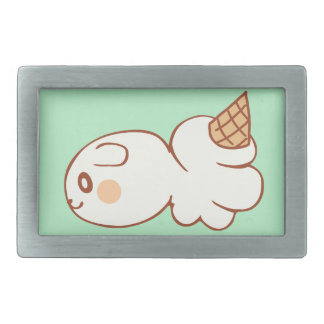 Ice-cream market icecream market rectangular belt buckle