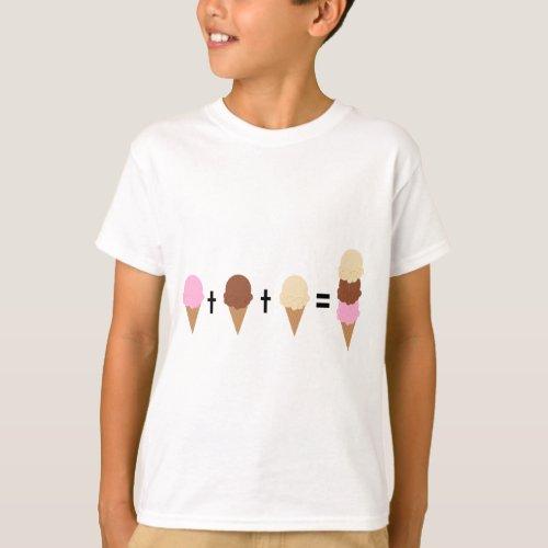 Ice Cream Math T_Shirt