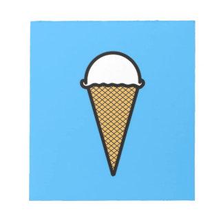 Ice Cream Memo Note Pad