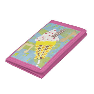 Ice Cream Microphone Wallet