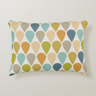 Ice Cream Mid Century Modern Decorative Pillow