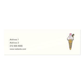 Ice Cream! Mini Business Card