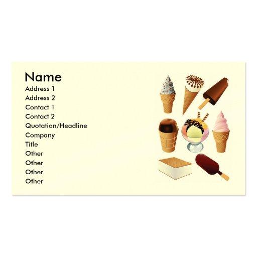 Ice Cream Ice Cream Names