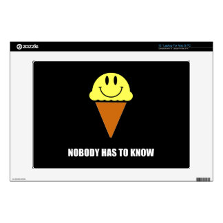 Ice Cream Nobody Has To Know Decals For Laptops