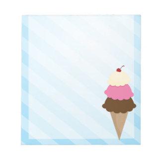 Ice Cream Notepad