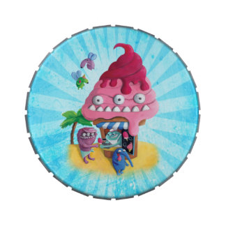 Ice Cream on the Beach Jelly Belly Candy Tins