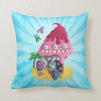 Ice Cream on the Beach Pillows
