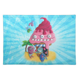 Ice Cream on the Beach Placemat