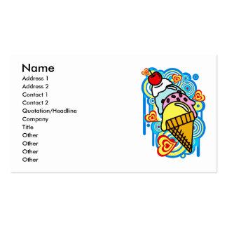 Ice_Cream_Paint Business Card