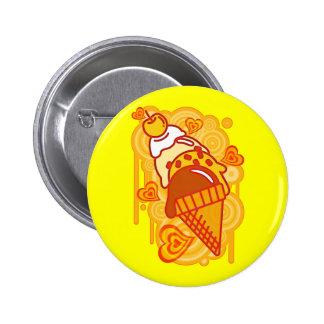 Ice_Cream_Paint 2 Inch Round Button