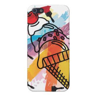 Ice_Cream_Paint Case For iPhone SE/5/5s