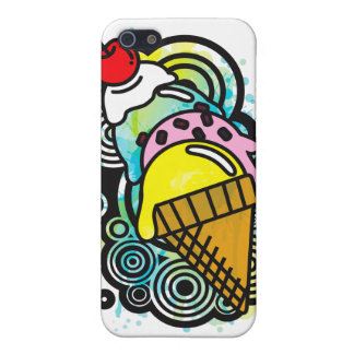 Ice_Cream_Paint Cover For iPhone SE/5/5s
