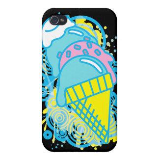 Ice_Cream_Paint iPhone 4/4S Case