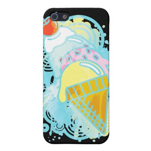 Ice_Cream_Paint iPhone 5 Protector
