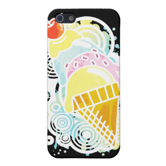 Ice_Cream_Paint iPhone SE/5/5s Case