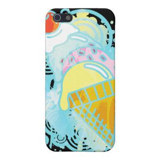 Ice_Cream_Paint iPhone SE/5/5s Cover