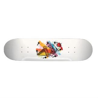 Ice_Cream_Paint Tabla De Skate