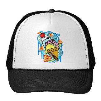 Ice_Cream_Paint Trucker Hat