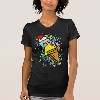 Ice_Cream_Paint Tshirt