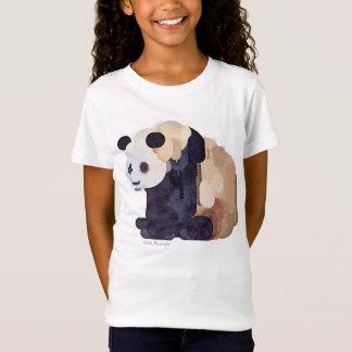 """Ice Cream Panda #2"" Girl's Babydoll T-shirt"