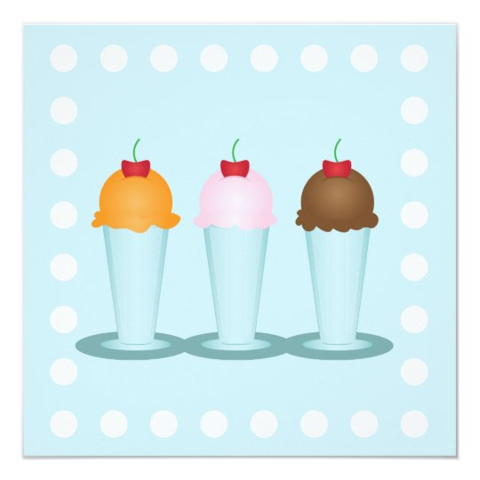 Ice Cream Parlor Card