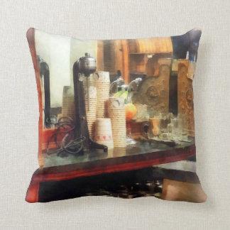 Ice Cream Throw Pillows : Ice Cream Parlor Pillows - Decorative & Throw Pillows Zazzle