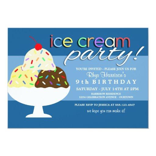 procedure text how to make ice cream