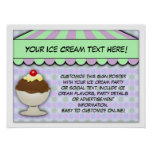 Ice Cream Party, Pastel Sweet Shoppe Posters