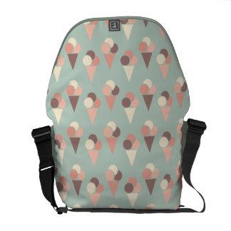 Ice-cream pattern commuter bag