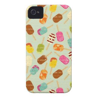 Ice Cream Pattern iPhone 4 Cover