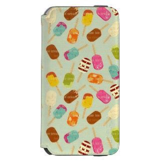 Ice Cream Pattern iPhone 6/6s Wallet Case