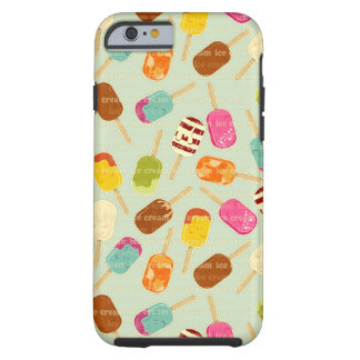 Ice Cream Pattern iPhone 6 Case