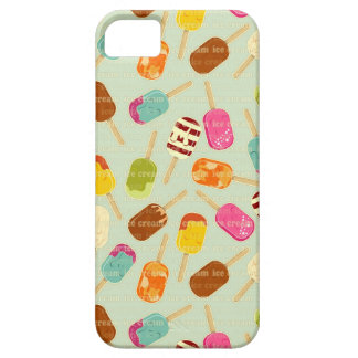 Ice Cream Pattern iPhone SE/5/5s Case