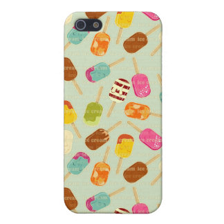Ice Cream Pattern iPhone SE/5/5s Cover