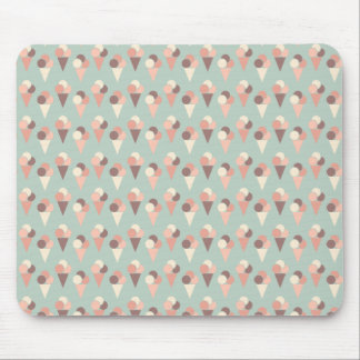 Ice-cream pattern mouse pad