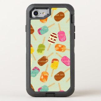 Ice Cream Pattern OtterBox Defender iPhone 8/7 Case