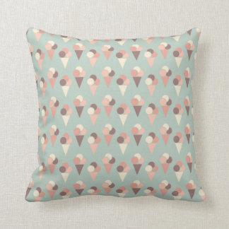 Ice-cream pattern pillows