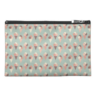 Ice-cream pattern travel accessory bags