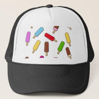 Ice cream pattern trucker hat
