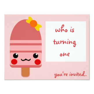 ice cream pink announcements