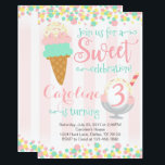 "Ice Cream Popsicle Birthday Party Invitation<br><div class=""desc"">Add uniqueness to your little ones special day with this Circus invitation!</div>"