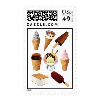 Ice Cream Postage