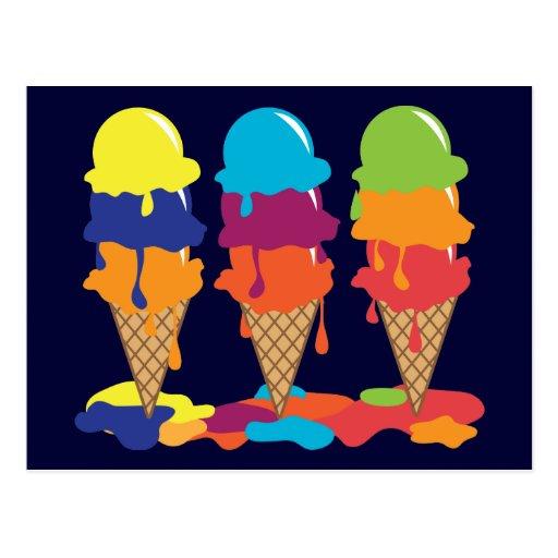 Ice Cream Postcard