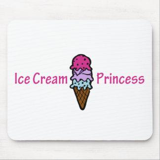 Ice Cream Princess Mouse Pad