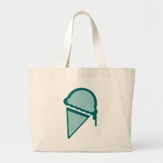 ice cream retro dripz tote bag