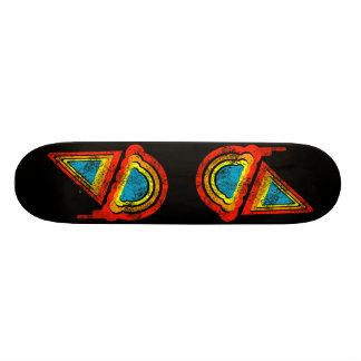 ice cream retro rainbowz skateboard