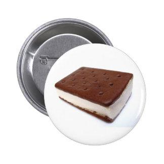 Ice Cream Sandwich 2 Inch Round Button