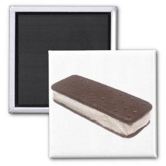 Ice Cream Sandwich 2 Inch Square Magnet