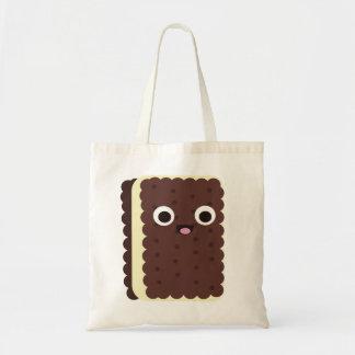 Ice Cream Sandwich Canvas Bag