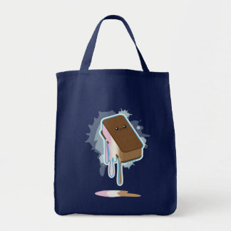 Ice Cream Sandwich Grocery Tote Bag